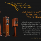 Visit Taylor Acoustic to Experience Something Truly Different Thumbnail
