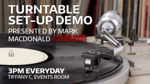 Turntable set-up Demonstration presented by Mark MacDonald of The Sound Room Thumbnail