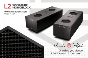 Vinnie Rossi to demonstrate flagship L2 Signature Preamplifier and Monoblocks Thumbnail