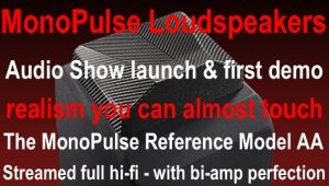 MonoPulse Loudspeakers Audio Show Launch and first demo Thumbnail