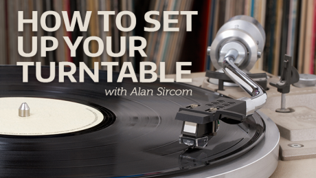 how to completely set up a turntable