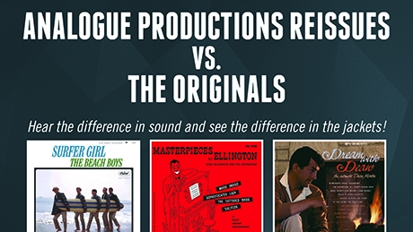 Analogue Productions Reissues VS. The Originals Thumbnail