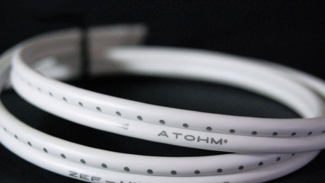 North American premiere from France, the Atohm speaker and interconnection cables Thumbnail